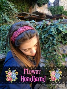 Little Treasures: Flower Headband - free crochet pattern