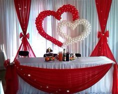 Discover thousands of images about Boda Wedding Stage, Diy Wedding, Wedding Reception, Dream Wedding, Valentines Day Decorations, Birthday Decorations, Wedding Decorations, Stage Decorations, Balloon Decorations