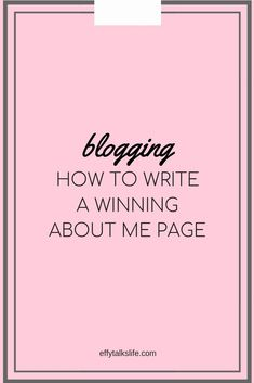 How to write an about me page Make Money Blogging, How To Make Money, Blogging Ideas, Blog Writing, Writing Tips, About Me Page, About Me Blog, Blog Layout, Blog Topics