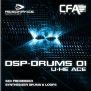 CFA Sound - DSP Drums 01 - ACE from Resonance Sound distributed by Loopmasters - http://www.audiobyray.com/product/samplepack-cfa-sound-dsp-drums-01-ace/ - Resonance Sound, Sample Packs