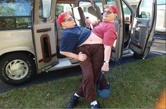 At 57, Ronnie and Donnie are the oldest living conjoined twins.