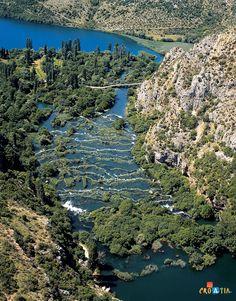 River Krka, Croatia