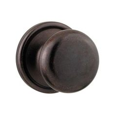 Kwikset Hancock Rustic Bronze Hall/Closet Knob - 720H 501 RCAL RCS at The Home Depot