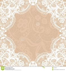 Burlap And Lace Clip Art