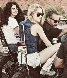 Lana Del Rey & Chuck Grant// Ride music video