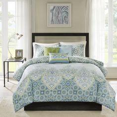 Madison Park Armelle 7-Piece Cotton Comforter Set