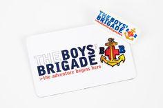 The Boys Brigade Magnet & Badge
