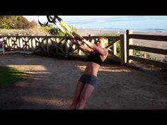 TRX Face Pull w/ External Rotation    A weak upper back angles your chest downward.