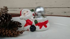 Check out this item in my Etsy shop https://www.etsy.com/listing/258826620/retro-santa-claus-art-ceramic-decor
