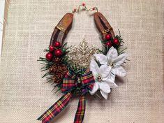 Celtic Christmas Horseshoe-Horse Lover by LuckySoleHorseshoes