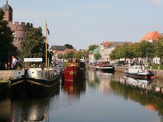 Thorbeckegracht en Verhalenboot