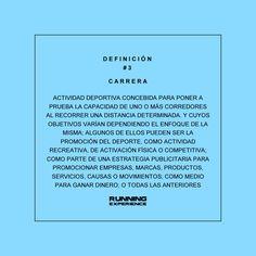 #CorredorLiterario #Definicion #3 #Carrera