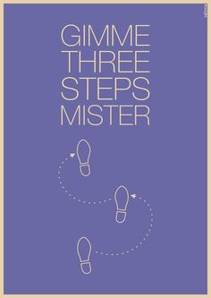 Three Steeps Illustration for the song Gimme Three Steps, by Lynyrd Skynyrd. Music Love, Music Is Life, Good Music, My Music, Rock Quotes, Lyrics To Live By, Gift From Heaven, Lynyrd Skynyrd, Down South