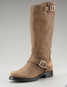 ugh the perfect Frye boot. I want you!