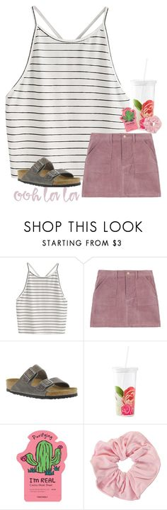"""""""ooh la la"""" by ab1525 ❤ liked on Polyvore featuring Birkenstock, Kate Spade and TONYMOLY"""