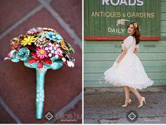 Vintage Brooch Bouquets non floral bouquet ideas