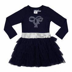 Toffe jurk voor de decembermaand van de meisjes kleding website Kinderjurken.com