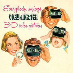 View-Master Is Waking From Its Decades-Long Slumber, Thanks to Virtual Reality Retro Advertising, Retro Ads, Advertising Signs, Vintage Advertisements, Vintage Ads, Vintage Stuff, Old Posters, Vintage Posters, Floating Head