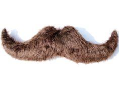 Large Mustache Pillow.. $30.00, via Etsy.
