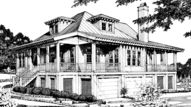 St. Helena House - Allison Ramsey Architects, Inc. | Southern Living House Plans