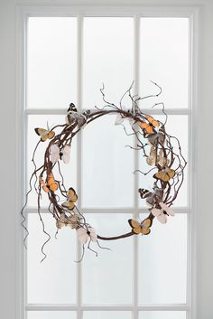 How to Make a Butterfly Wreath