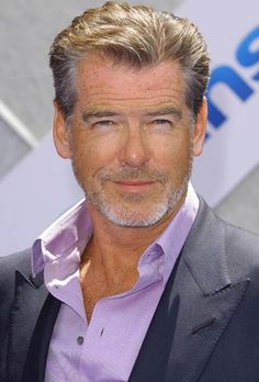 Pierce Brosnan. Hes still sexy with scruff! Wherever you go..goChapsoho! www.chapsoho.com