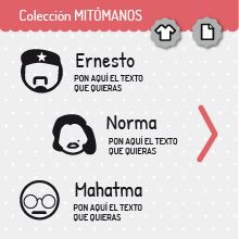 Colección MITÓMANOS | miomiomio