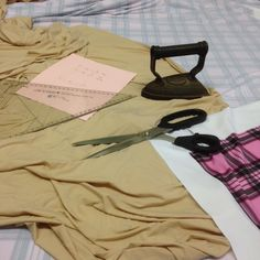 Cutting out the pattern pieces for the #swimsuit #pattern #sewing #cutting #custom