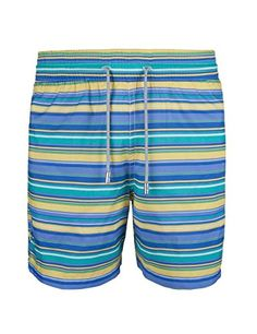 SURFCUZ Men's Swim Trunk Beach short Woven Fashion Boardshort with pocket - Surfcuz, a surf and swim lifestyle brand, Surfcuz swim trunk are a great as a cover-up while at the beach or pool. SURFCUZ BENEFITS: Fabric:100% Polyester White Mesh line Swim trunk fabric feels soft and comfortable Latesttechnology, they do not easy to fade Swim trunks feature double needle stit...