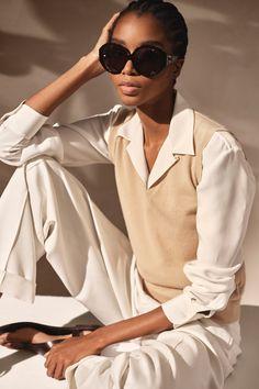 Fashion Week, New York Fashion, Fashion Show, Womens Fashion, Ralph Lauren Style, Ralph Lauren Collection, Embellished Skirt, Emily Didonato, Cashmere Jacket