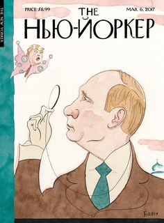 "The New Yorker - Monday, March 6, 2017 - Issue # 4677 - Vol. 93 - N° 3 - Cover ""Eustace Vladimirovich Tilley"" by Barry Blitt"
