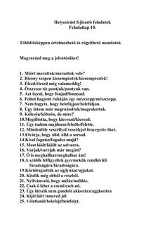 Helyesírást fejlesztő feladatok Worksheets, Teaching, Education, School, Amigurumi, Dementia, Best Quotes Ever, Languages, Literacy Centers