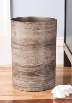 Catch My Driftwood Trash Can, #ModCloth