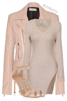A fashion look from October 2015 featuring asymmetric tops, Balenciaga and manolo blahnik shoes. Browse and shop related looks. Classy Outfits, Casual Outfits, Cute Outfits, Fashion Outfits, Dope Fashion, Fashion Killa, Womens Fashion, Polyvore Outfits, Going Out Outfits