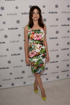 Crystal Reed - Arrivals at the 12th Annual InStyle Summer Soiree