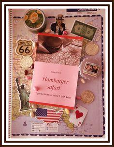 """Reiseführer! Du suchst für deinen USA Urlaub noch den passenden Reiseführer, der die wirklich wichtigen Dinge erklärt, wie z.B. Was soll ich einpacken? Wie halte ich den langen Flug durch? Was passiert am Flughafen? Brauche ich eine Kühlbox, ein Navi, eine Karte? Fragen über Fragen beantwortet dir """"Hamburger safari"""".  #usa #usareise #amerika #hamburger #urlaub #reiseführer www.hamburgersafari.de"""