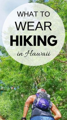 What to wear hiking in Hawaii for Oahu hikes, Maui, Kauai, Big Island. What to pack for Hawaii. What to wear in Hawaii. Vacation ideas planning tips. Hiking Gear List, Hiking Tips, Hiking In Maui, Hiking Usa, Kayak Camping, Camping Tips, Camping Cabins, Camping Games, Camping Trailers