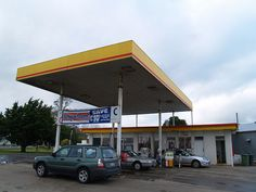 The gas station I stopped at in Heywood, Victoria, Australia