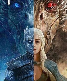 A song of ice ❄️ and fire  - Best of Game of Thrones #gameofthrones #Dragons #gotseason7 #GoTS7 #jonsnow #kitharington #stark #winterfell #aryastark #sansastark #maisiewilliams #got #lannister #tyrionlannister #daenerystargaryen #emiliaclarke #motherofdragons #kinginthenorth #winteriscoming #winterishere #cercei
