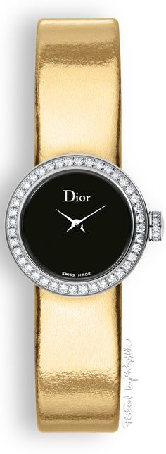 Regilla - Dior Watch - Ideas of Dior Watch - Regilla Una Fiorentina in California Black Gold Jewelry, Beautiful Watches, Luxury Watches, Cool Watches, Fashion Watches, Jewelry Watches, Fashion Accessories, California, Gold Fashion