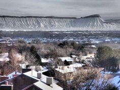 Book cliffs in Grand Junction Colorado