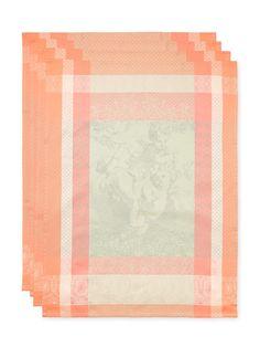 Amours (Pistachio) Kitchen Towels by Garnier-Thiebaut (Own)