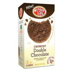 Enjoy Life gluten free cookies- peanut, tree nut, dairy, egg, wheat, soy, gluten free