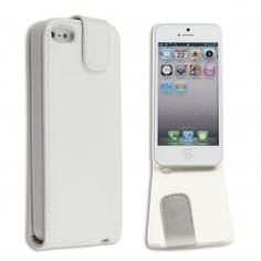 GRATIS iPhone 5 Flip Case - Wit (t.w.v. €12,95) - Hoesjes - iPhone 5 - Telefoon Accessoires