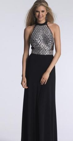 BB7111. In store now. This very current beaded halter top with stretch knit black bottom is sure to be a winner. Perfect for your ball or evening event. We have a wide selection of ball gowns for you to choose from. All our gowns are available for hire or purchase. 'Visit us in Albany village. See more on http://bridalandball.co.nz/ball-gowns/