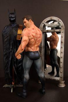 """Figur Bruce Wayne. No tiene super-poderes! es un hombre """"comun"""""""