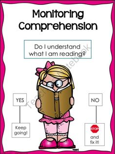 Monitoring Comprehension Poster: Girl and Boy Melonheadz Version from WingedOne on TeachersNotebook.com -  (11 pages)  - Monitoring Comprehension Poster: Girl and Boy Melonheadz Version