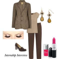 Interview outfit, created by aletoro on Polyvore