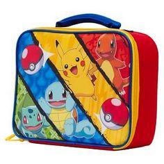 Pokemon Lunch Box - Blue/Yellow : Target