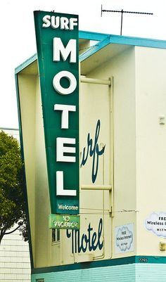 San Francisco vintage motel sign